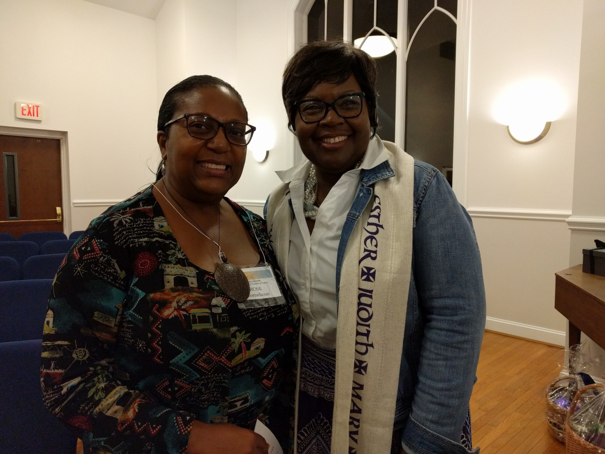 Rose and Rev. Hinnant-Uzzell